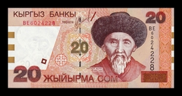 Kirguistan Kyrgyzstan 20 Som 2002 Pick 19 SC UNC - Kirguistán
