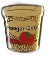 GLACES - G9 - HAAGEN-DAZS- Verso : S.P. - Food