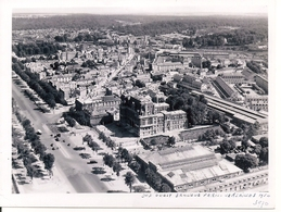 VERSAILLES - 4 Photos , Vue Aérienne,de La Mairie Gare Rive Gauche,et Préfecture 1950, 15 X 11,5 Cm - Photographie