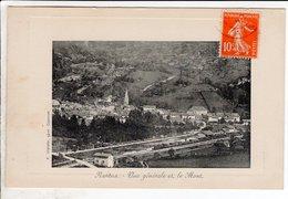 Cpa Nantua Vue Generale Et Le Mont - Nantua