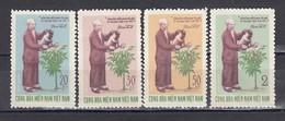 Vietnam 1970 - Edition Of The Vietcong-80th Birthday Of Ho Chi Minh , Mi-Nr. 27-30, MNH** - Vietnam