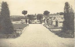 Très Ancienne Carte-photo Du Cimetière De Bois-d'Haine (avant La Guerre 40/45 ?) - Lieux