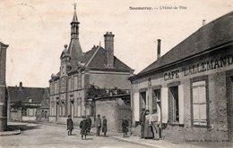 Dép. 28 - SAUMERAY - Circulé - Hotel De Ville - - Autres Communes