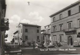 PERUGIA - TUORO SUL TRASIMENO - PIAZZA MUNICIPIO.....C7 - Perugia