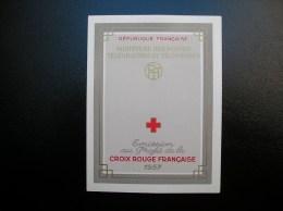 Carnet Croix Rouge N° 2006 Année 1957 TBE Neuf, Gomme Parfaite ** - Rode Kruis