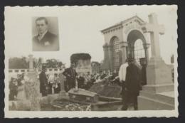 ENTERREMENT * BEGRAFENIS * PHOTO DE L HOMME DECEDE * + FOTO OVERLEDEN PERSOON * 13 X 8.5 CM * PHOTO JEAN - Photos