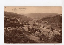 111 - TROIS - PONTS  -  Panorama - Trois-Ponts