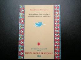 Carnet Croix Rouge Année 1961 N° 2010 TBE** Gomme Parfaite - Rode Kruis
