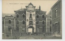 BULLY GRENAY - L'École De Garçons - Autres Communes