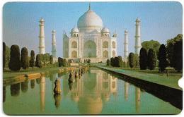 India - GPT Plessey, Taj Mahal 2EXHC000551, Used - India