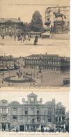 Lille Lot De 3 Lp Prefecture,Place Ph Lebon Et Grand Garde TBE - Lille