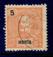 ! ! Horta - 1897 D. Carlos 5 R - Af. 14 - Used - Horta