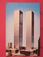USA - New York - World Trade Center - Joli Timbre - 1971 - Recto Verso - World Trade Center