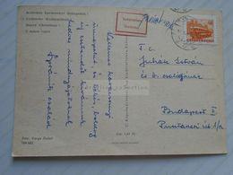 D170687 Hungary - Undelivered Postcard  Ismeretlen Inconnu 1968 - Hungary