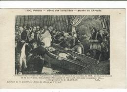 OUVERTURE  DU CERCUEIL DE NAPOLEON - - Histoire