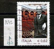 Italie - Italy - Italien 2003 Y&T N°2672 - Michel N°2934 (o) - 0,62€ U La Malfa - 6. 1946-.. Republic