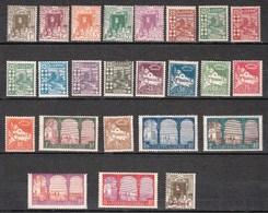 Année 1926-N°34/57 Neufs**MNH : Vues D'Alger - 24 Valeurs   (A) - Ungebraucht