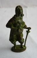 FIGURINE KINDER  METAL MOUSQUETAIRE FRANCAIS 2 80's - Vert De Gris  KRIEGER MUSKETIER 2 FRANKREICH - Figurines En Métal