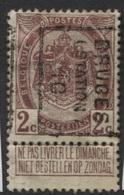 PREOS Roulette - BRUGES STATION 1910 (position B). Cat 1518 Cote 400 - Precancels