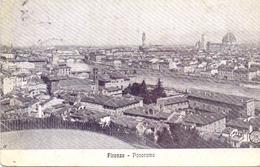 FIRENZE PANORAMA  1909 POST CARD   (FEB200112) - Firenze