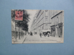 PARIS  -  75  - Boulevard Péreire Sud  -  Rue Lebon - Transport Urbain En Surface