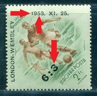1953 Football,Match Of The Century,England/Wembley,Hungary,Error1340,MNH Variery - Fútbol
