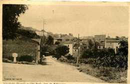 MAGALAS =   Coté Nord Pont De Badeaussou   1359 - Autres Communes