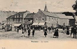 Poulseur Le Centre Animée Ancien Café De La Station - Comblain-au-Pont