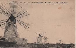 DJIBOUTI  MOULINS A VENT DES SALLINES - Djibouti