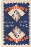 1 SPEELKAART BERGENBIER BLAUW RODE LETTERS - Playing Cards