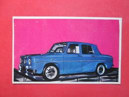 Trading Card (Cromo) - Renault 8 Gordini - Nº 170 - Col. Autos 1967 - Ed. Bruguera 1967 - (Spain) / France - Automobili