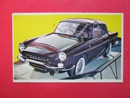 Trading Card (Cromo) - Renault Caravellei - Nº 171 - Col. Autos 1967 - Ed. Bruguera 1967 - (Spain) / France - Automobili