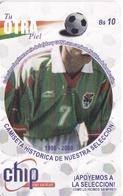 TARJETA DE BOLIVIA DE Bs 10 DE APOYEMOS A LA SELECCIÓN (FUTBOL-FOOTBALL) - Bolivia
