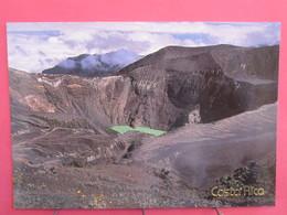Visuel Très Peu Courant - Costa Rica - Parque Nacional Volcan Irazu - Crater Principal - Joli Timbre - Recto Verso - Costa Rica