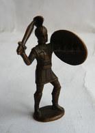 FIGURINE KINDER  METAL SOLDATS GRECS 3 70's -   KRIEGER GRIECHISCHEN GREC - Figurines En Métal