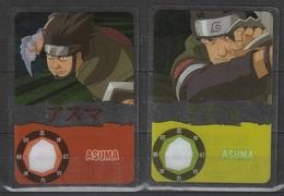 Carte Ultra Cards Panini Naruto 2 Cartes De Asuma - Trading Cards