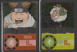 Carte Ultra Cards Panini Naruto 2 Cartes De Choji - Trading Cards
