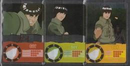 Carte Ultra Cards Panini Naruto 3 Cartes De Guy - Trading Cards