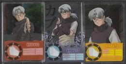 Carte Ultra Cards Panini Naruto 3 Cartes De Kabuto - Trading Cards