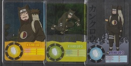 Carte Ultra Cards Panini Naruto 3 Cartes De Kankuro - Trading Cards