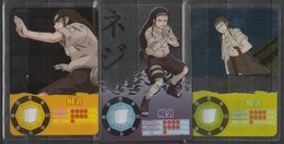 Carte Ultra Cards Panini Naruto 3 Cartes De Neji - Trading Cards