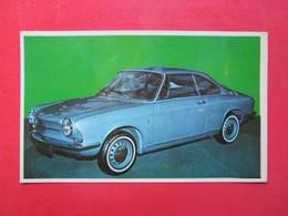 Trading Card (Cromo) - Simca 1.000 Coupé - Nº 184 - Col. Autos 1967 - Ed. Bruguera 1967 - (Spain) / France - Cars