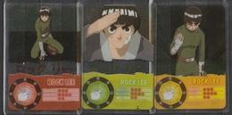 Carte Ultra Cards Panini Naruto 3 Cartes De Rock Lee - Trading Cards