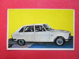 Trading Card (Cromo) - Renault 16 - Nº 172 - Col. Autos 1967 - Ed. Bruguera 1967 - (Spain) / France - Automobili