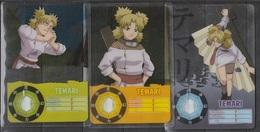 Carte Ultra Cards Panini Naruto 3 Cartes De Temari - Trading Cards