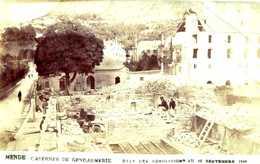 MENDE =CASERNES De Gendarmerie  ETAT Des Démolitions Au 10 Sept 1906  CARTE PHOTO   1364 - Mende