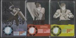 Carte Ultra Cards Panini Naruto 3 Cartes De Zabuza - Trading Cards