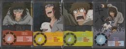 Carte Ultra Cards Panini Naruto 4 Cartes De Kiba - Trading Cards