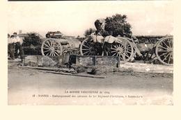 Carte 1914 NANTES / Guerre Européenne :embarquement Des Caissons Du 51 Ième Régiment D'artillerie ,Sainte Luce - Nantes