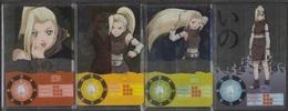 Carte Ultra Cards Panini Naruto 4 Cartes De Ino - Trading Cards